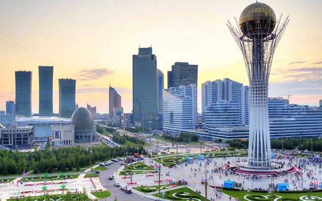Поездка в Казахстан