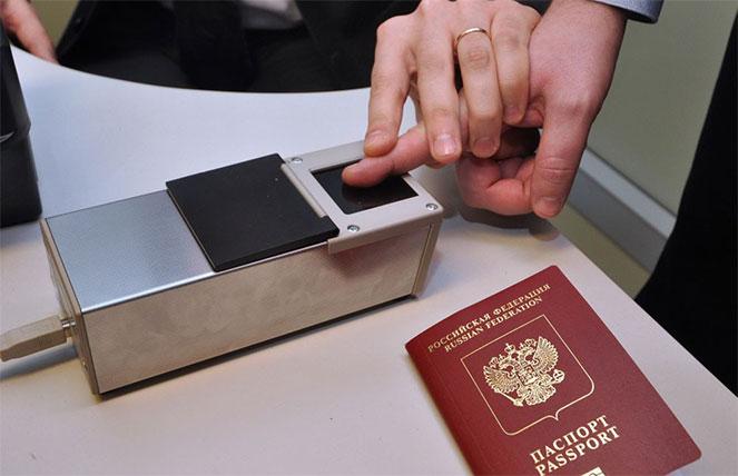 Отпечатки пальцев для загранпаспорта: как это делается