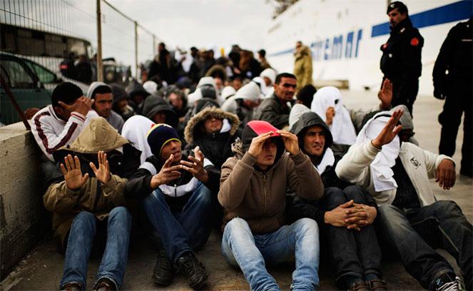 Нелегальные мигранты