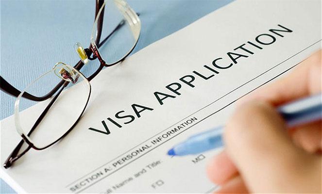 Анкета на визу