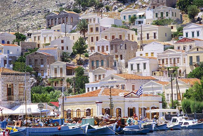 Греция фото вилл