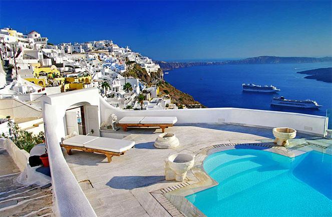 Коттеджи виллы греция