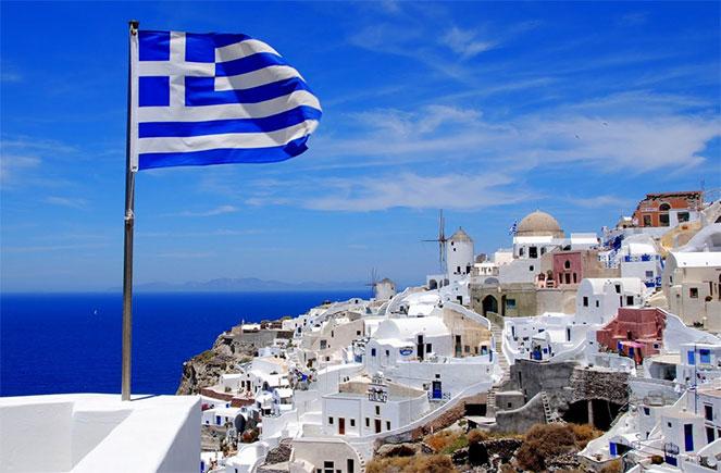 Вилла на первой линии в греции