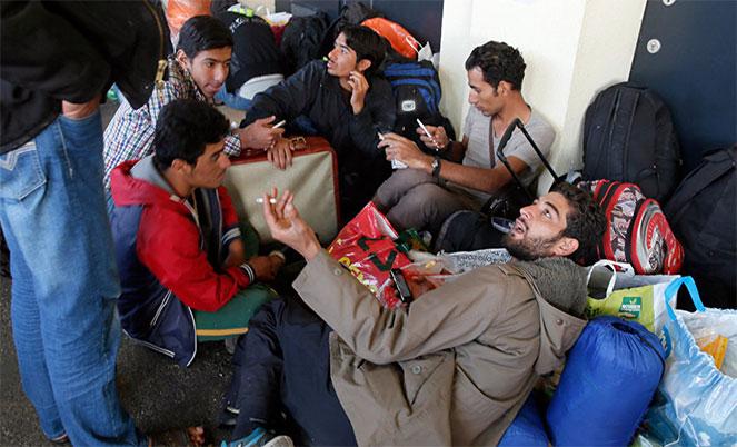 Жизнь беженцев