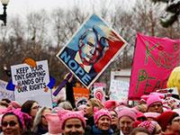 Протесты против Трампа
