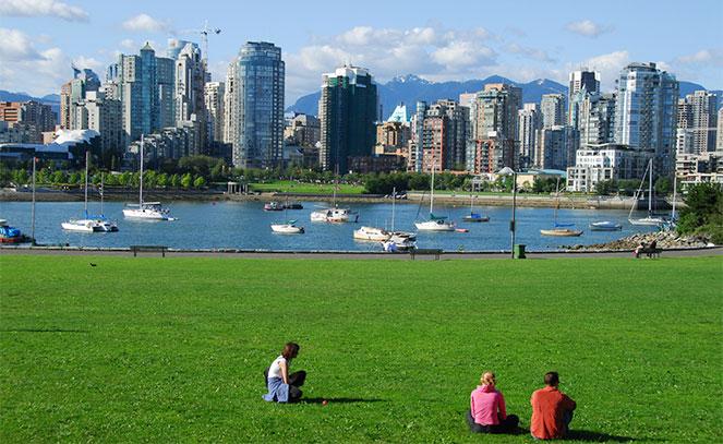 Города в Канаде