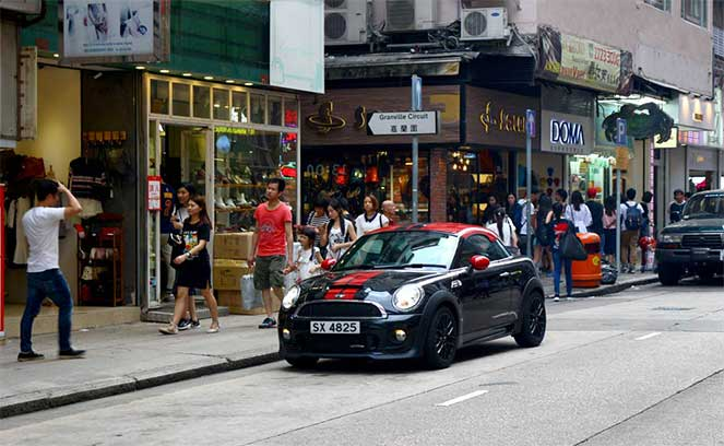 Как арендовать автомобиль в Гонконге