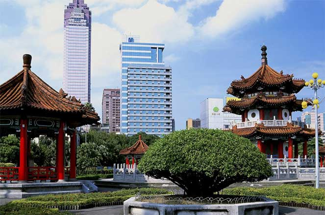 Парк в Тайване