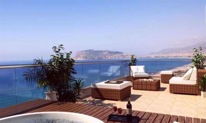 Цены домах по берегу в турции