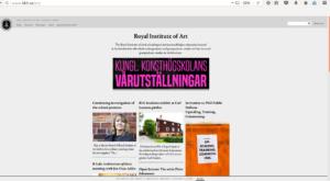 Академия искусств в Стокгольме
