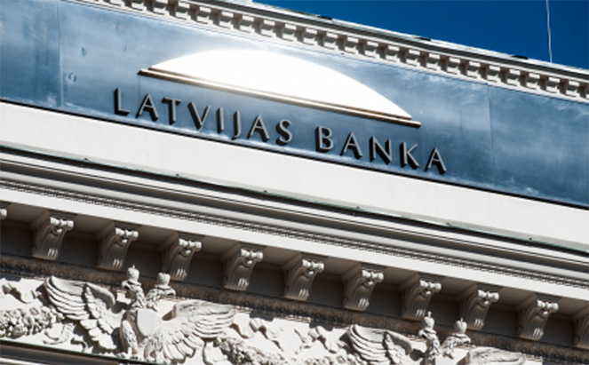 Банк в Латвии