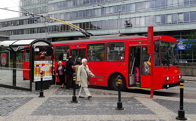 Троллейбусы в Братиславе