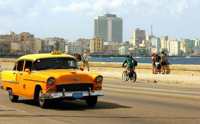 Старое такси