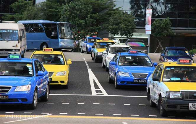 Виды транспорта в Сингапуре