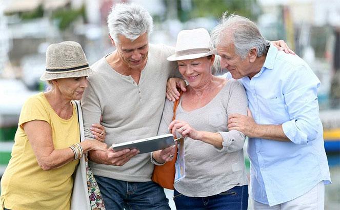 Пенсионеры в Словакии