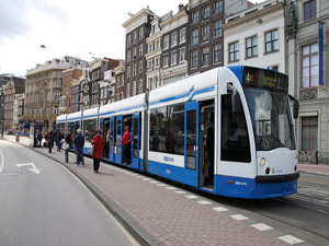 Городской транспорт Амстердама