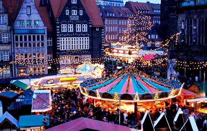 Известные немецкие зимние ярмарки и фестивали